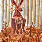 Sitting hare © Bonnie Portraits by BonniePortraits