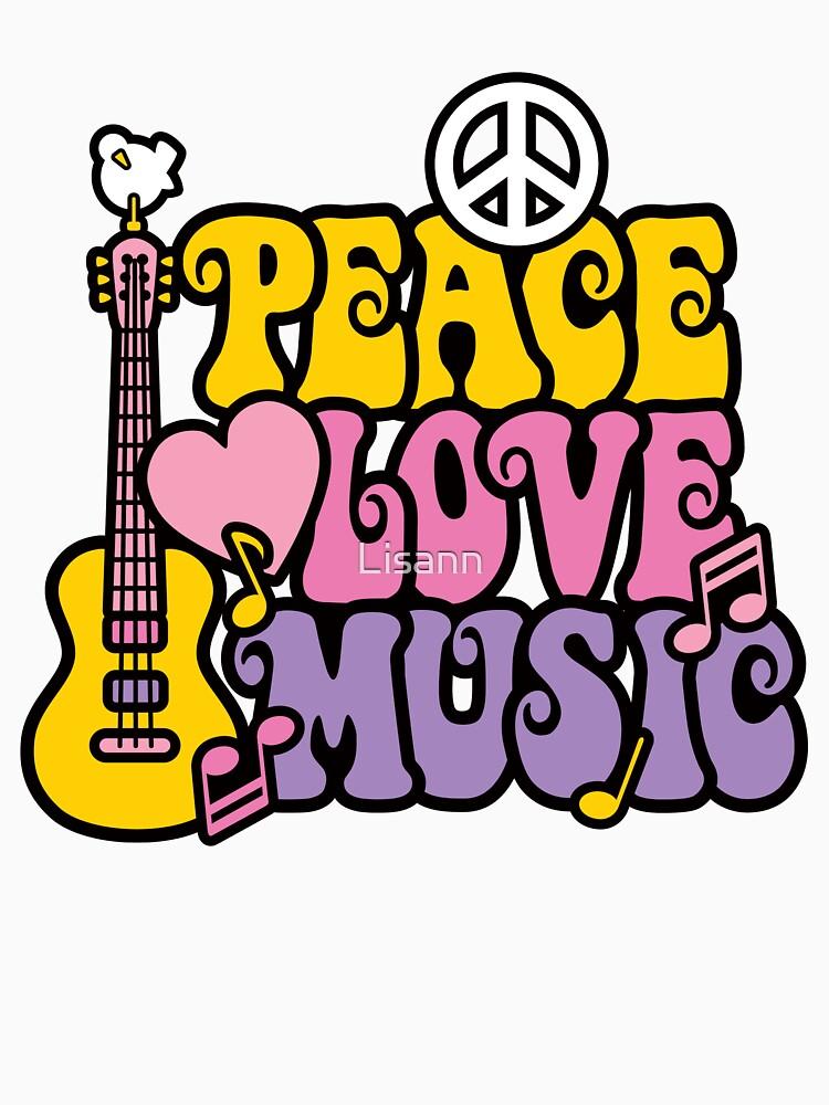 Frieden Liebe Musik von Lisann