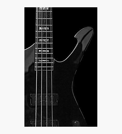 Ibanez 'Iceman Bass' Guitar Photographic Print