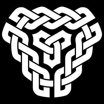 Celtic Braided Triangle Sigil by Thel0n