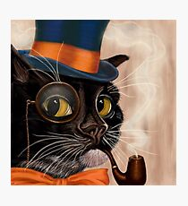 Sophisticated Cat Photographic Print