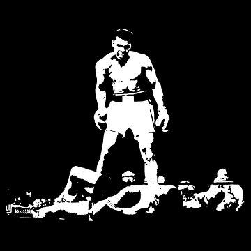 Ali Knockout T shirt - ICONIC LEGEND by MelanixStyles