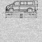 Camping-Bus Maße  von 66latitudenorth