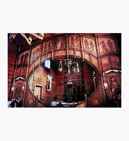 St.Dora's Church, Yaremche Ukraine Photographic Print