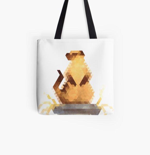Meerkat All Over Print Tote Bag