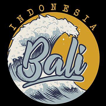 Bali waves by GeschenkIdee