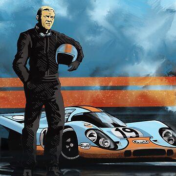 Retro clásico 917 Racer de SFDesignstudio