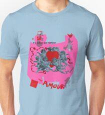Amour Schlag es Unisex T-Shirt