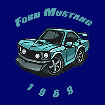 Ford Mustang by rubiohiphop