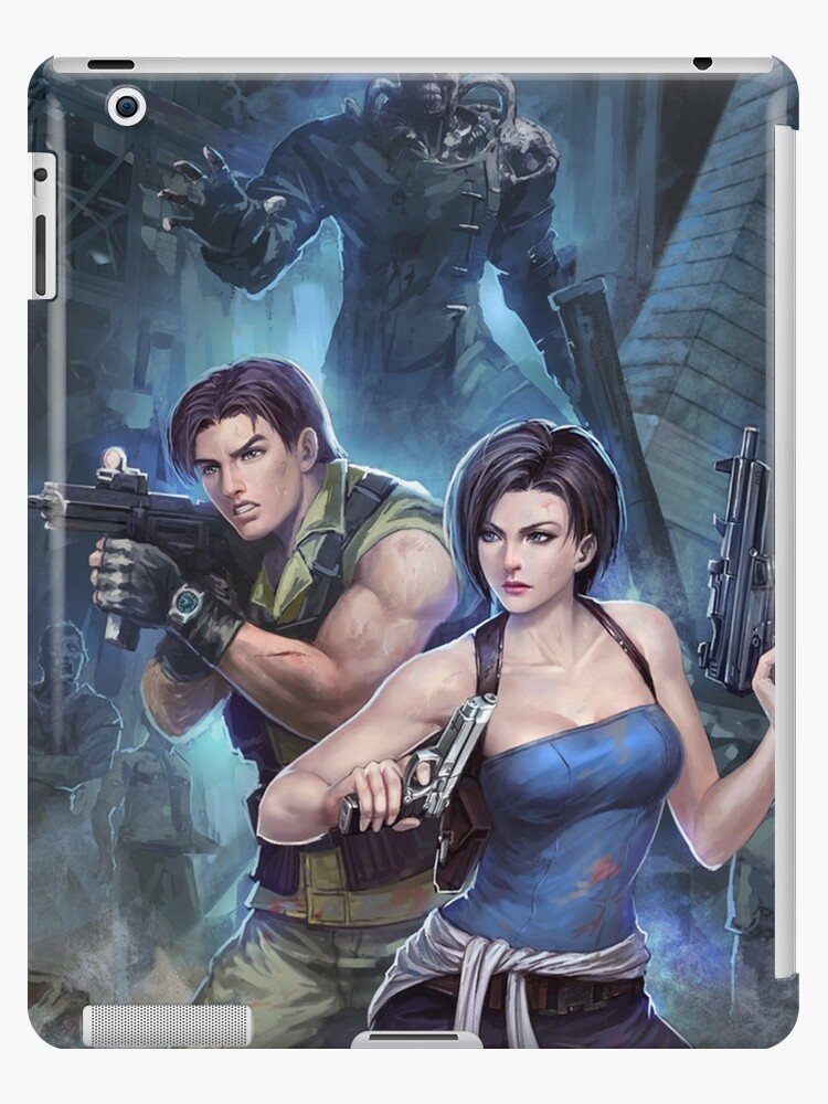 Resident Evil 3 Jill Carlos Nemesis Ipad Case Skin By