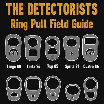 Detectorists Ring Pull Field Guide by Eye Voodoo by eyevoodoo