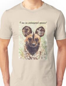 I am an endangered species! Unisex T-Shirt