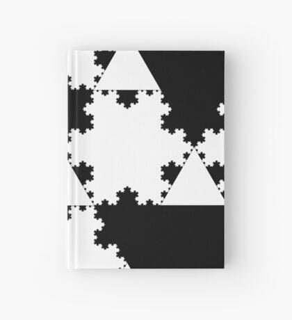 Koch Curve XI Hardcover Journal