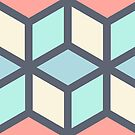 Hexagon pattern by experimentons