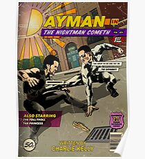 Dayman Comic Poster