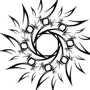 Spiral flower by Evilninja