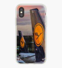 Lufthansa tails iPhone Case