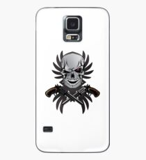 Gun Skull Case/Skin for Samsung Galaxy