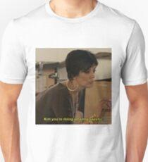 Kim, du machst einen tollen Schatz. Slim Fit T-Shirt