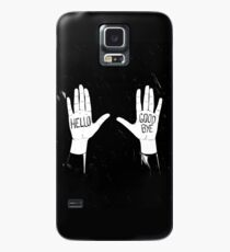 Funda/vinilo para Samsung Galaxy Hello Goodbye