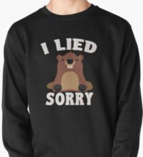 I Lied Sorry Groundhog Day Shirt Pullover