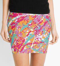 Artist Camouflage Mini Skirt
