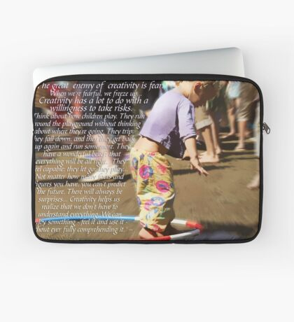 DON'T LET FEAR STOP YOU Laptop Sleeve