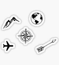 Mini Travel Stickers Sticker