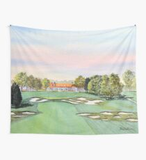 Bethpage Golf Course 18th Hole Wall Tapestry