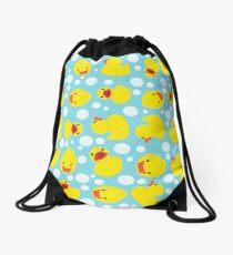 Rubber Duckies Drawstring Bag