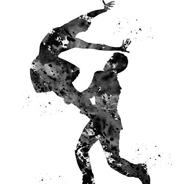 Couple Figure Skating by erzebetth