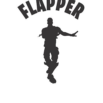 Flapper Dance Video Game Gamers Emote Funny Boys Kids by hlcaldwell