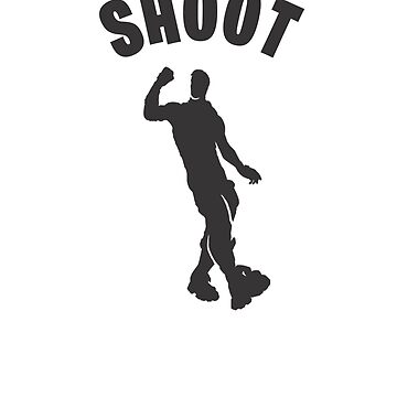Shoot Dance Video Game Gamers Emote Funny Boys Kids by hlcaldwell