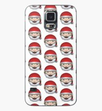 Santa Emoji  Case/Skin for Samsung Galaxy