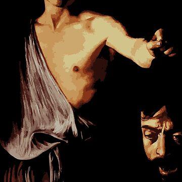 Davide with the testa di Golia by opngoo