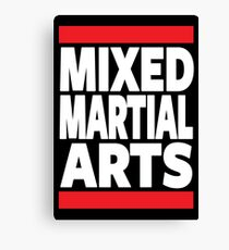Mixed Martial Arts Canvas Print
