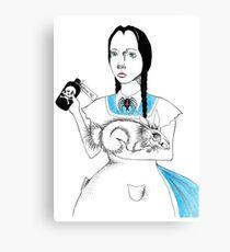 Wednesday in Wonderland Canvas Print