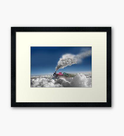 Sky Express Framed Print