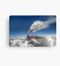 Sky Express Canvas Print