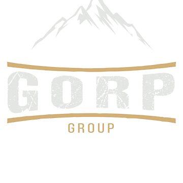 Gorp Hiking lover TShirt Birthday Gift Tee by jacko89