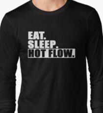 Eat Sleep Hot Flow Long Sleeve T-Shirt