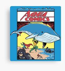 Aqua Comics Issue 1 Canvas Print