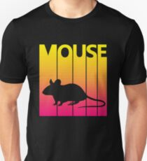 Retro 1980s Mouse Unisex T-Shirt