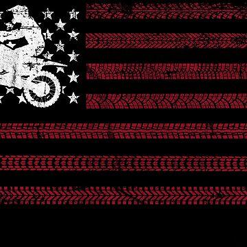 Dirt Bike Motor Cycle Racing Gift Shirt by Rueb