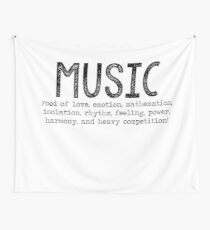 RENT - To Music Wall Tapestry