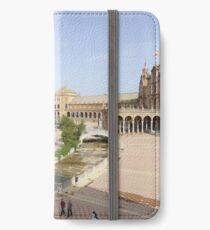 Plaza de Espana, Seville, Spain iPhone Wallet/Case/Skin