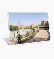 Plaza de Espana, Seville, Spain Laptop Skin