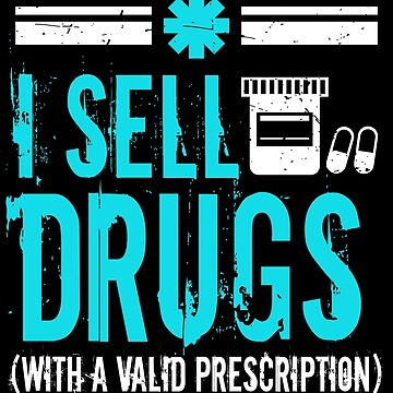 Pharmacy Tech Over The Counter Funny Gift Technician by kh123856