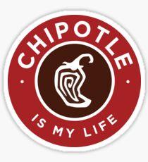 Chipotle ist mein Leben Sticker