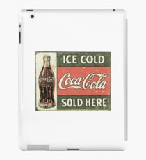 Ice Cold Coca Cola iPad Case/Skin
